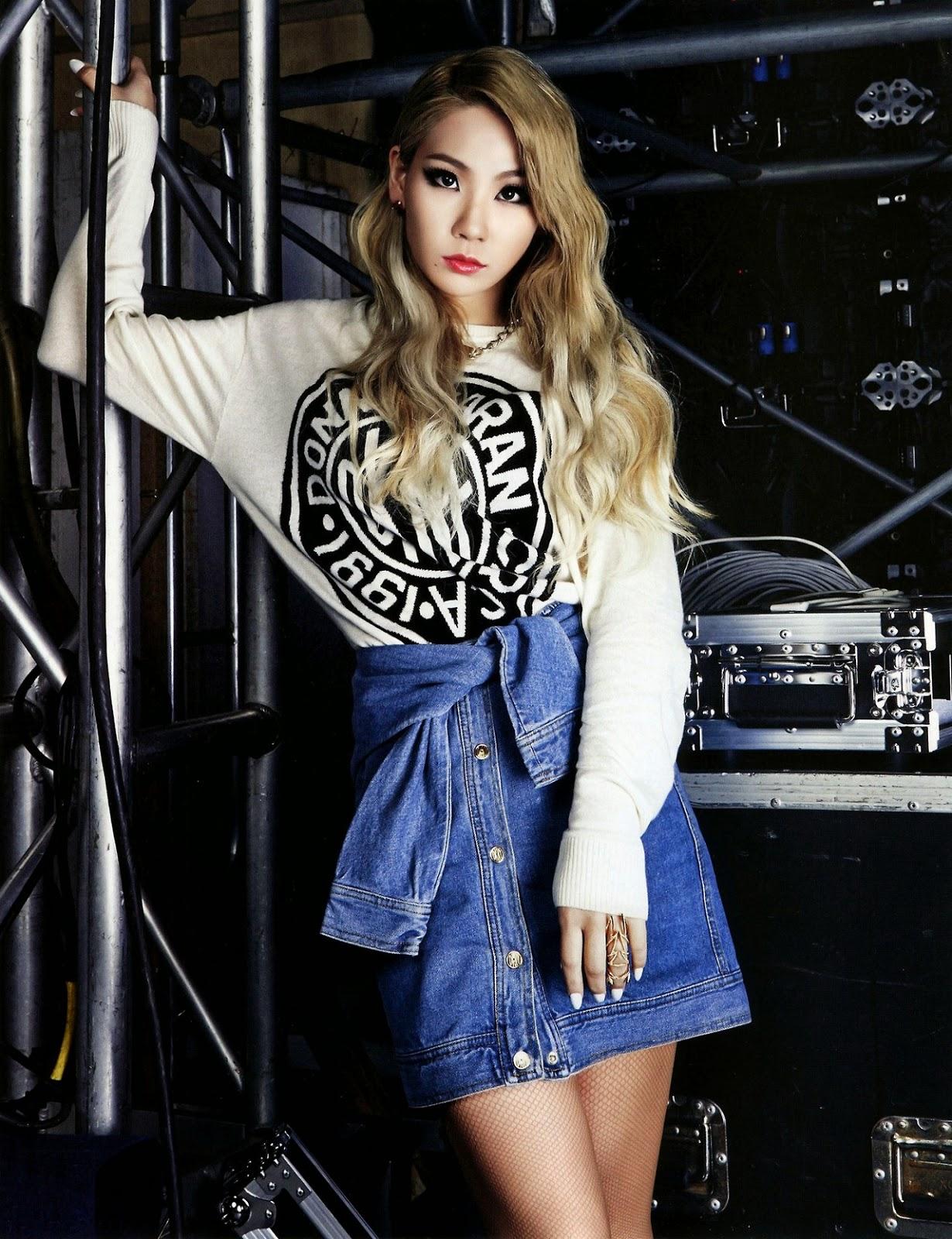 2NE CL - Hazzys F/W 204 - Korean Magazine Lovers