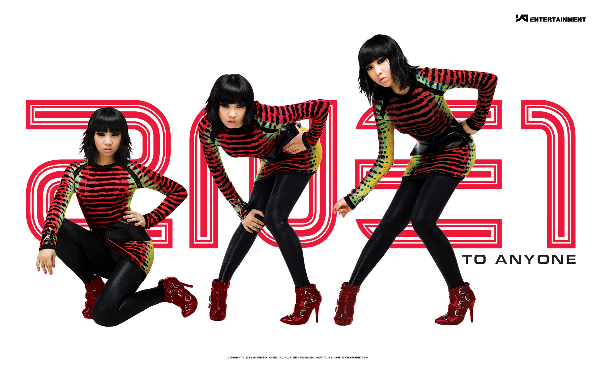 2NE1 Wallpapers, Pictures, Images