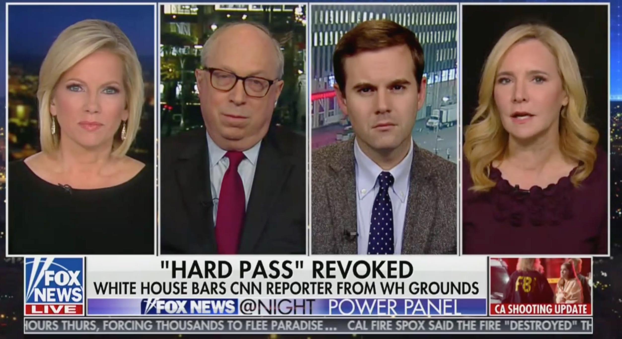AB Stoddard: WH Pulling Jim Acostas Press Pass Was Kremlinesque