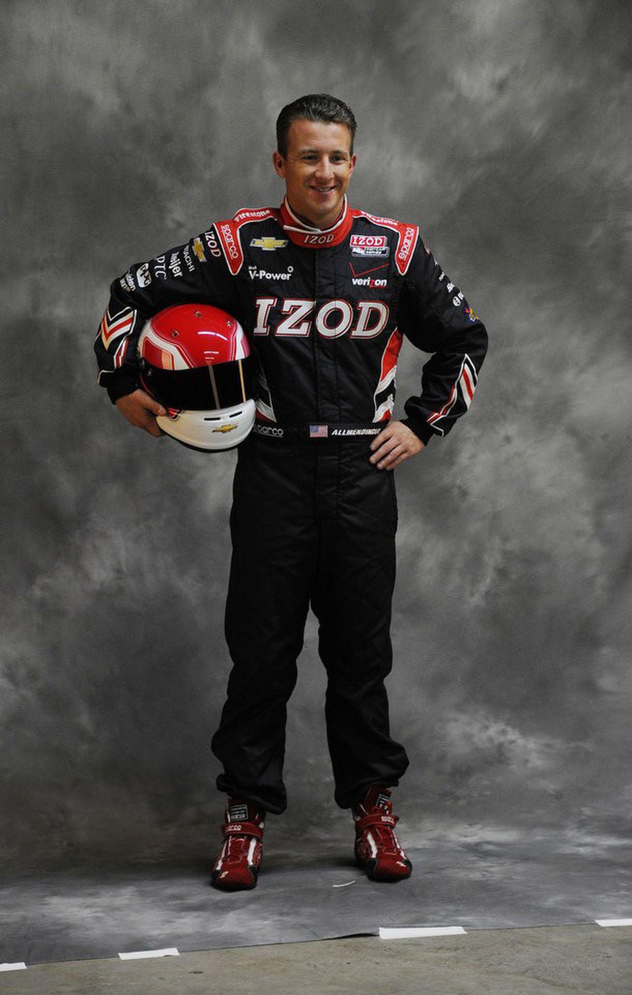 AJ ALLMENDINGER - 2012 Press Pass Ignite NASCAR Racing Firesuit Card