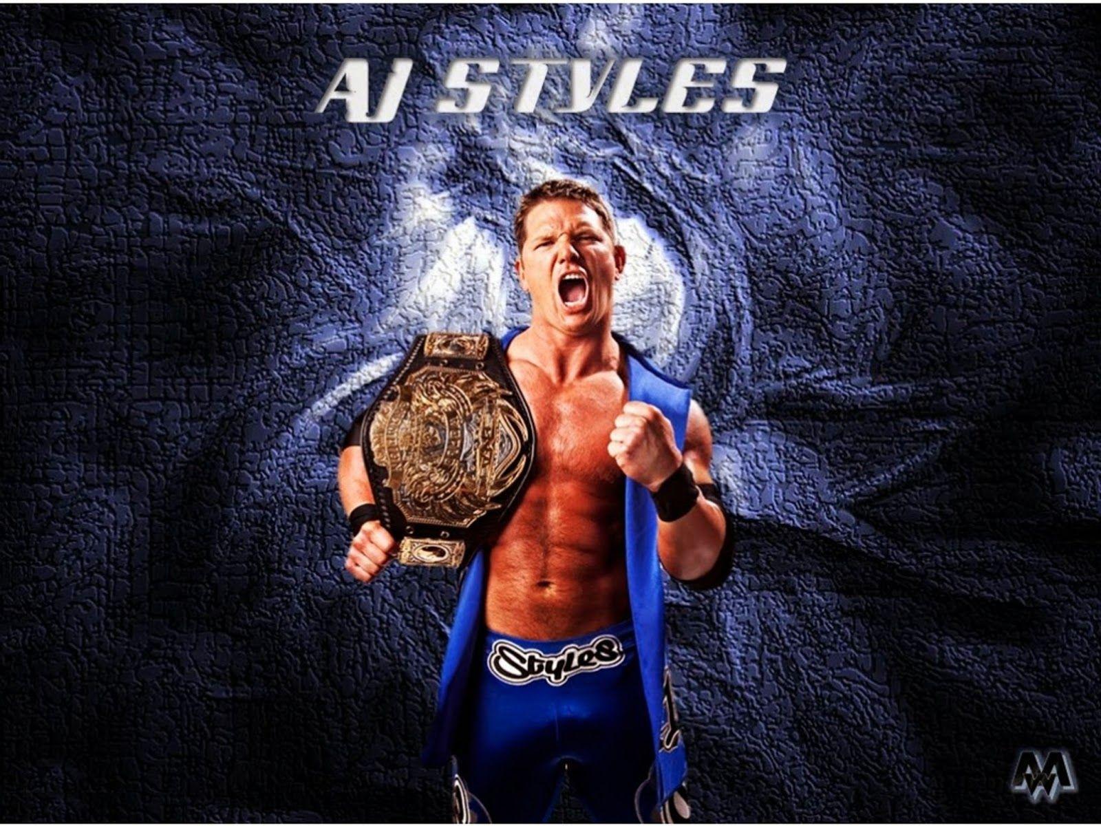 AJ Styles 2019 Wallpapers - Wallpaper Cave